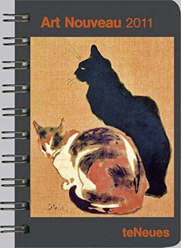 - 51xoWr94VoL - 2011 Art Nouveau Pocket Engagement Calendar