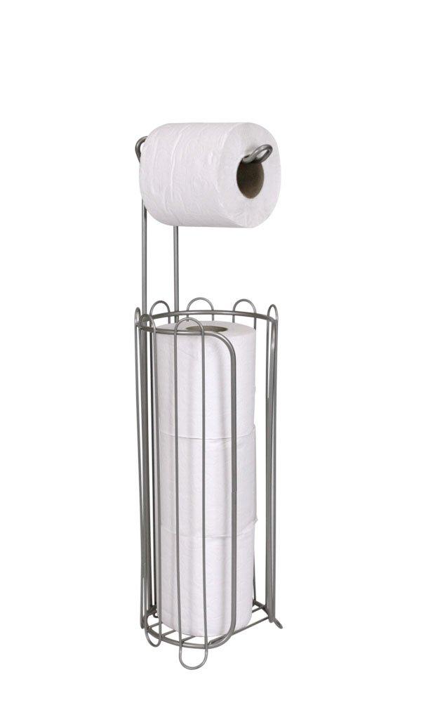 Home Basics Toilet Paper Holder and Dispenser by Home Basics