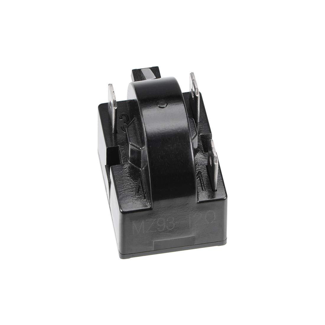 sourcing map 4,7 ohms 1 Pin noir relais d/émarreur PTC R/éfrig/érateur