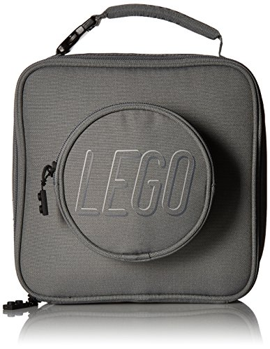 LEGO Kids Brick Lunch Backpack, Grey, One