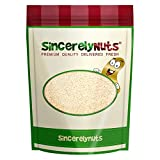 Sincerely Nuts Hulled Sesame Seeds – One Lb. Bag - Delightfully Tasty - Healthy & Crunchy - Kosher Certified Product