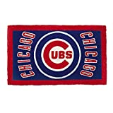 """Sports 18""""x30""""Welcome Mat Bleached-Chicago Cubs"""