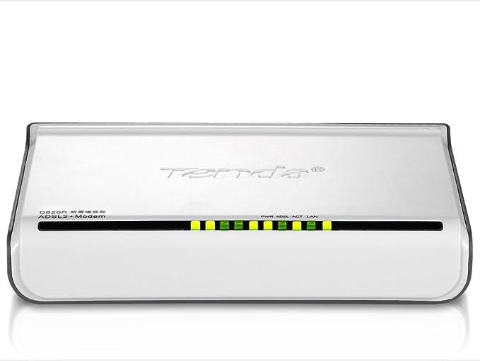 Tenda WL0140 - Módem LAN (ADSL2+, RJ-45), blanco: Amazon.es ...