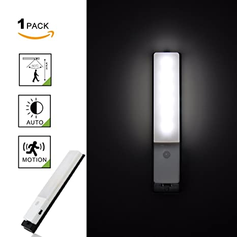 Princeway PIR Sensor de Movimiento LED Apliques de Pared- Super Brillante Tiras LED- LED