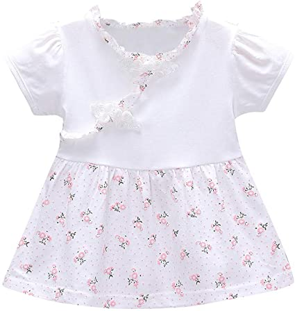 VPASS Newest Toddler Kid Baby Girls Sleeveless Solid Tulle Skirt Floral Dresses Princess Dress for Girl 0-24 Monthes