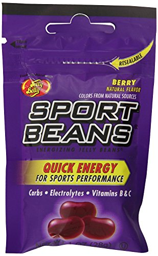 Sport Berry Beans (Jelly Belly Sport Beans, Berry Energizing Jelly Beans, 1-Ounce Bags (Pack of 48))