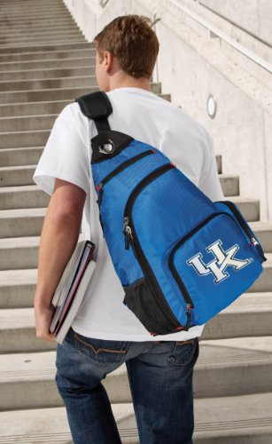 Kentucky Wildcats Backpack COMFORTABLE University of Kentucky Sling (Kentucky Wildcats Nylon Backpack)