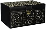 WOLF Marrakesh Medium Jewelry Box Black