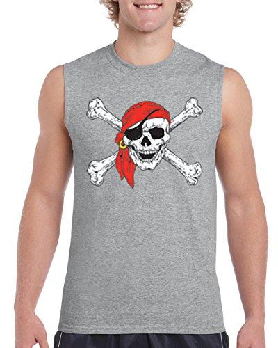 Mom's Favorite Christmas T-Shirt Jolly Roger Skull Crossbones Halloween Ugly Sweater Xmas Party Mens Sleeveless Shirts