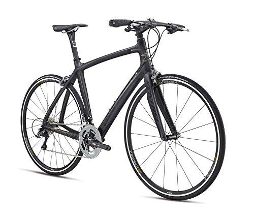 Kestrel RT-1000 Flat Bar Shimano Ultegra Bicycle, Satin Carbon/Black, 53cm/Medium Advanced Sports International - Bike