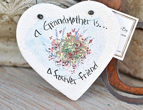 Mother's Day Gift for Grandma Grandmother Birthday Gift Salt Dough Ornament