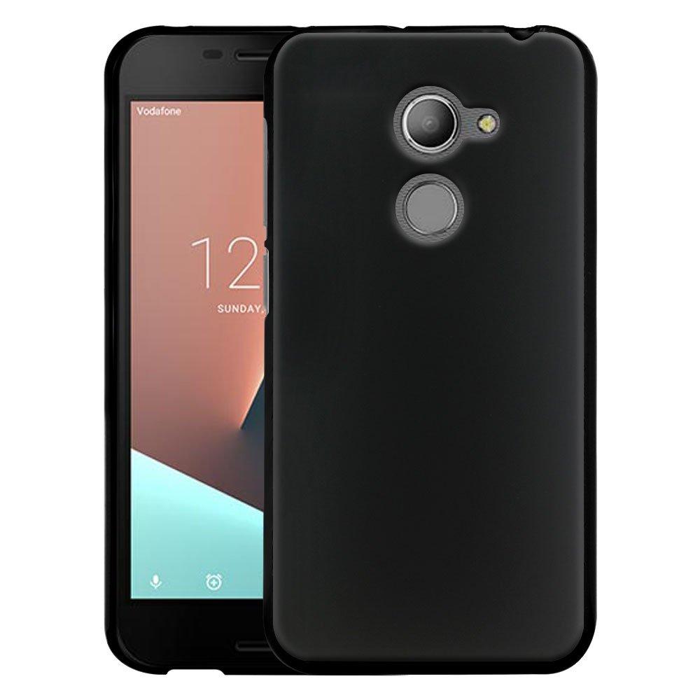 CMID Funda Smart N8, Slim Gel TPU Caucho Silicona Bumper Carcasa Flexible Goma Protector Case Cover para Vodafone Smart N8 5.0