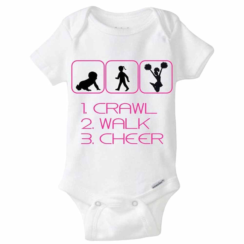 JIAJIA - Body - Personnage - Manches Courtes - Bébé (fille) 0 à 24 mois Blanc Blanc
