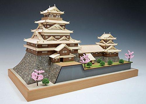 ウッディジョー 1/150 広島城 木製模型 組み立てキット B0719BPKL8