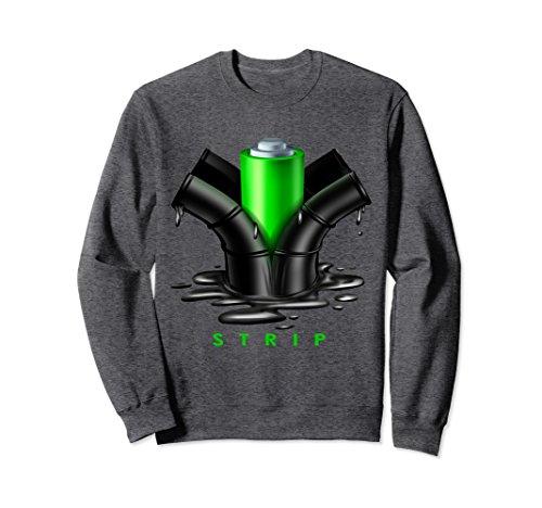 Unisex Funny Electric Energy Alternative Fuel Sweatshirt Medium Dark Heather