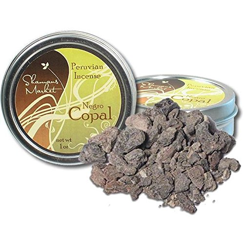 Copal Resin Incense - Peruvian Negro - Black - 1 oz