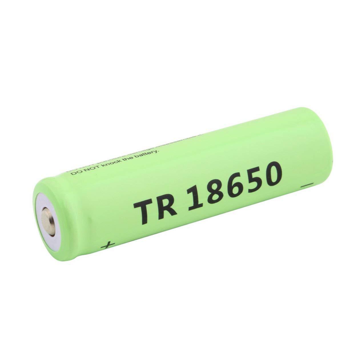 Redstrong 5800mAh 3.7V batería Recargable de Ion-Litio, 18650 Li-Ion 5800mAh Capacidad 3.7V Batería Recargable para linternas de LED Antorchas Baterías de antorcha Azul
