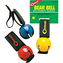 Coghlans Bear Bell W/Magnetic Silencer Red