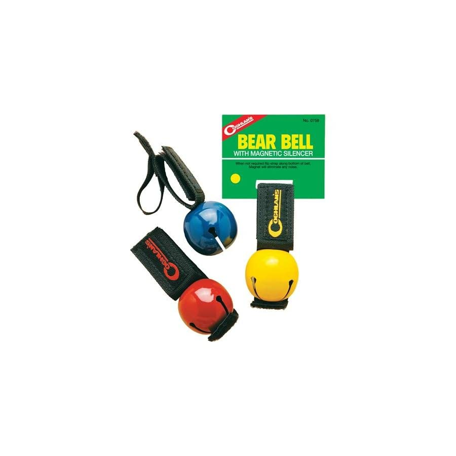 Bear Bell w/Magnetic Silencer Yellow