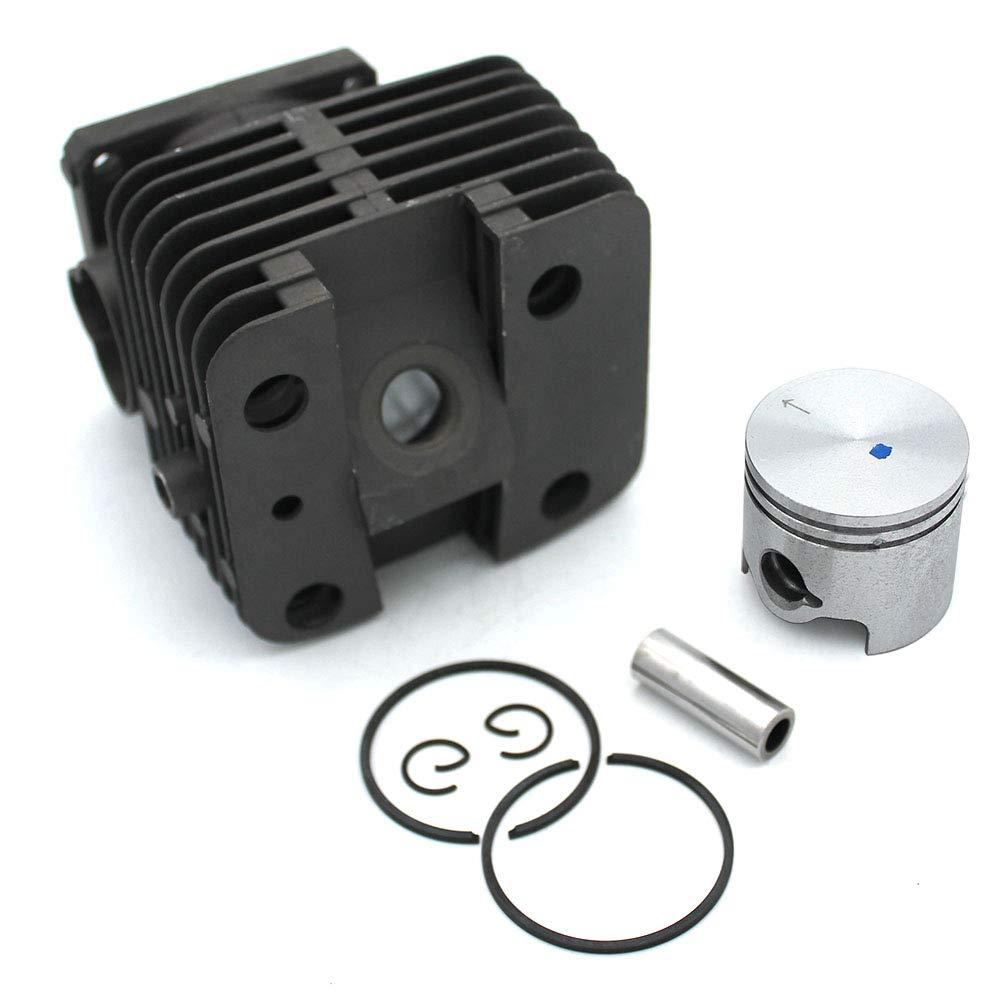 P SeekPro Kit pistone cilindrico 38 mm per decespugliatore Stihl FS120 FS200 FS200R FS250 FS250R Parti di Ricambio #4134 020 1212
