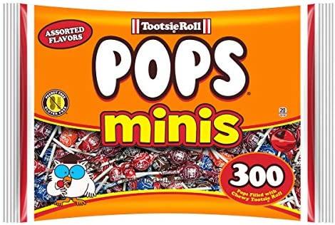 Tootsie Pops Minis con centro de chocolate, varios sabores ...
