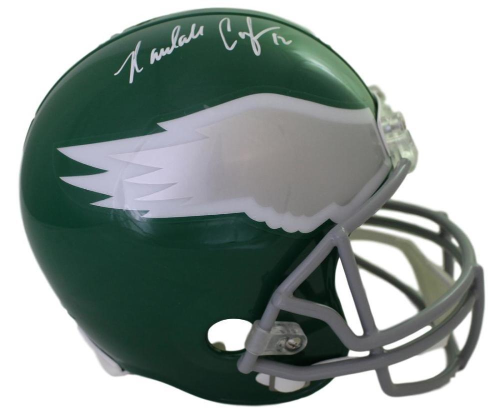 Randall Cunningham Autographed Philadelphia Eagles Replica Helmet JSA