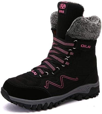 Desconocido Calzado Casual de Mujer, Botas de Nieve Abrigadas ...