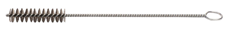 Pack of 10 0.04 Stainless Steel Wire Fill 1//2 2 Length Single Stem//Single Spiral Weiler 21104 Hand Tube Brush