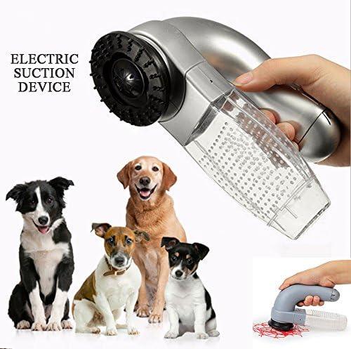 HONGNA Dispositivo De Succión Eléctrica del Pelo del Animal ...