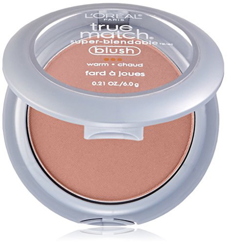 L'Oreal Paris True Match Super-Blendable Blush, Precious Peach, 0.21 oz.