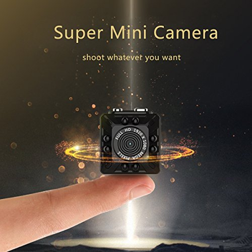 Portable Mini Camera, KAMRE 1080P/720P Small Body Cam with Night Vision and Motion Detection, Perfect Indoor Security Camera and Outdoor Activities