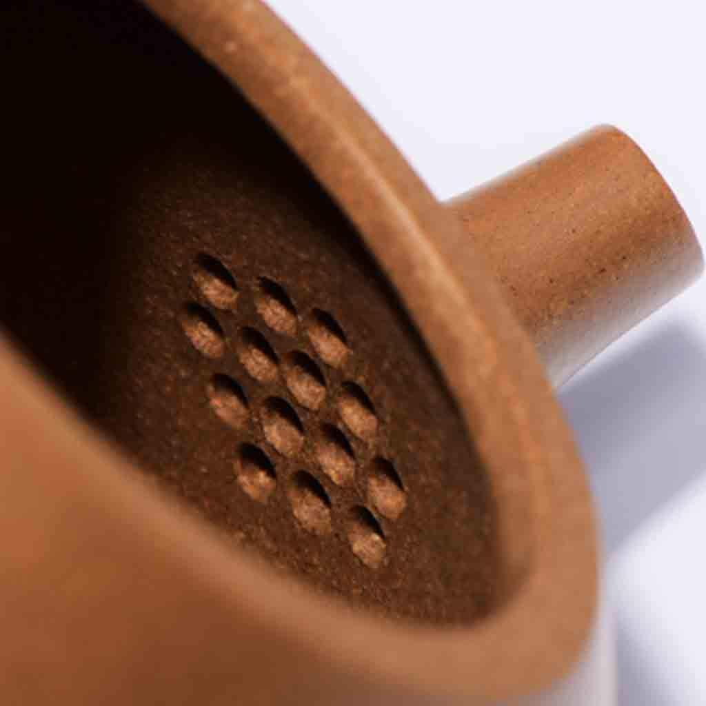Tea Cozies Zisha Pot Pure Hand-Made Section mud Stone Scoop Xi Shi Antique Household Kung Fu teapot Tea Set (Color : Brown, Size : 16.76.87.8cm) by Tea Cozies (Image #6)