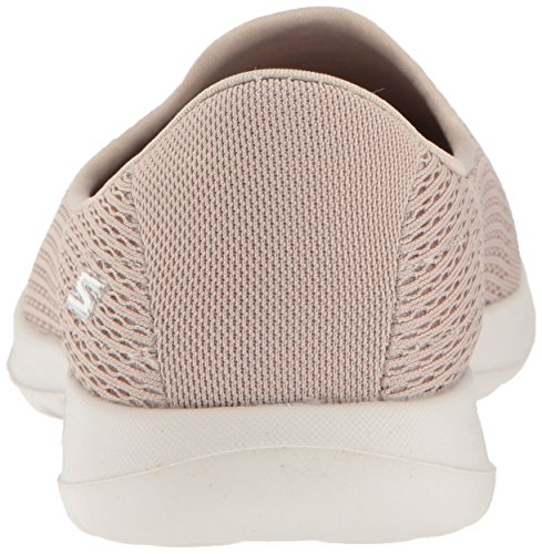 Skechers Vrouwen Gaan Lopen Lite-15410 Loafer Flat Taupe