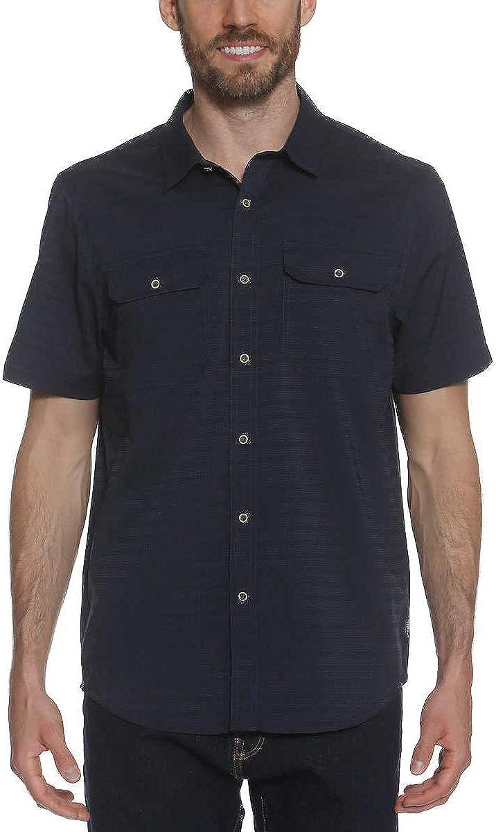 Gerry Men's Short Sleeve Woven Quick Dry Shirt