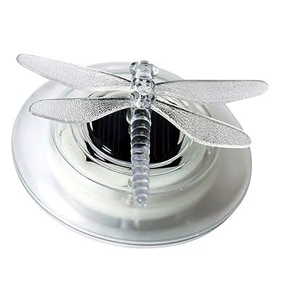 Solar Led Float Lamp, Solar Lights LED Solar Light, Floating Pond Night Lights, Pond Light, Pool Light, Solar Led Float Lamp RGB Color Change Butterfly/Dragonfly Shape Outdoor Garden Light