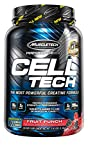 Creatine Monohydrate Powder   MuscleTech Cell-Tech Creatine Powder   Post Workout Recovery Drink   Muscle Builder for Men & Women   Muscle Building Creatine Supplements   Fruit Punch, 3 lbs (28 Serv)