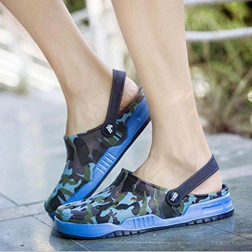 Zapatos Verano Chanclas Cavernas Sandalias De Jalea Transpirables Ywnc Deportivas Zapatillas Para Ocasionales Blue Antideslizantes Hombre Beach Ligera xIn4wH