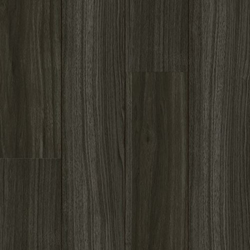 Armstrong Empire Walnut Luxe Plank with Fastak Install Vinyl Tile Flooring, Raven