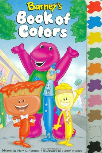 barneys book of color tab scholastic inc 0038332153958 amazoncom books - Barney Coloring Book