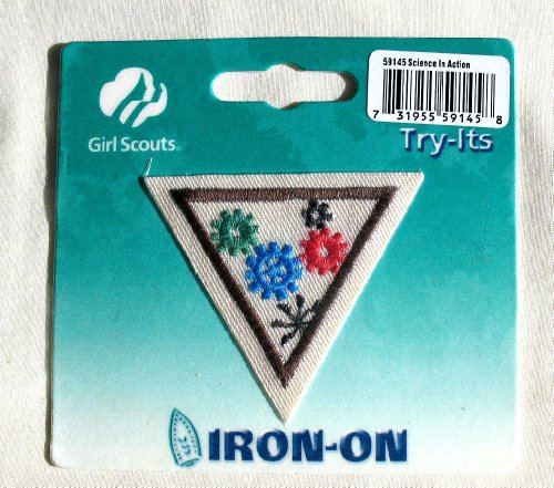 - Girl Scouts Try Its Iron-On Patch 59145 Science In Action