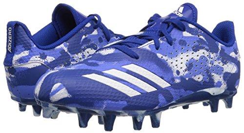 adidas Unisex Adizero 5-Star 7.0 Football Shoe, White/Collegiate Royal/hi-res Blue, 5 M US Big Kid by adidas (Image #5)