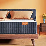 Sweetnight Queen Mattress-Queen Size Mattress,10 Inch Gel Memory Foam mattress for Back Pain Relief /Motion Isolation & Cool Sleep, Flippable Comfort from Soft to Medium Firm,Sunkiss