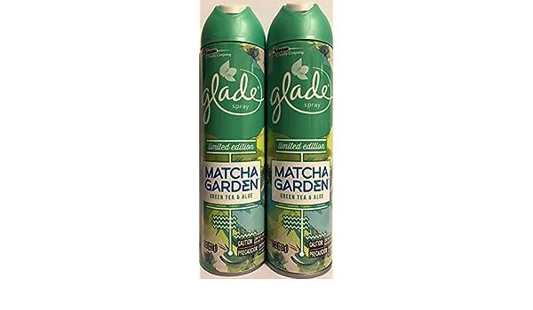 2ddb6e7d4a63 Amazon.com: Glade Air Freshener Spray - Limited Edition Matcha ...