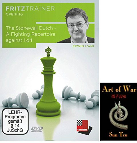 (The Stonewall Dutch - A Fighting Repertoire against 1.d4 - Chess Opening Software bundled with Art of War on DVD - 2 item bundle)