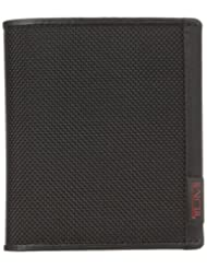 Tumi Men's Alpha Slimfold ID Wallet, Black, One Size