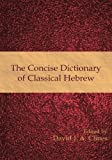 The Concise Dictionary of Classical Hebrew, , 1906055785