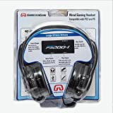 Gamestergear 57mm Speaker Driver Gaming Headset Detachable Mic, Exclusively for PlayStation 3/4, OG-AUD63085