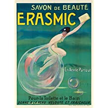 Erasmic Vintage Poster (artist: Jean D'Ylen) France c. 1920 (12x18 SIGNED Print Master Art Print w/ Certificate of Authenticity - Wall Decor Travel Poster)