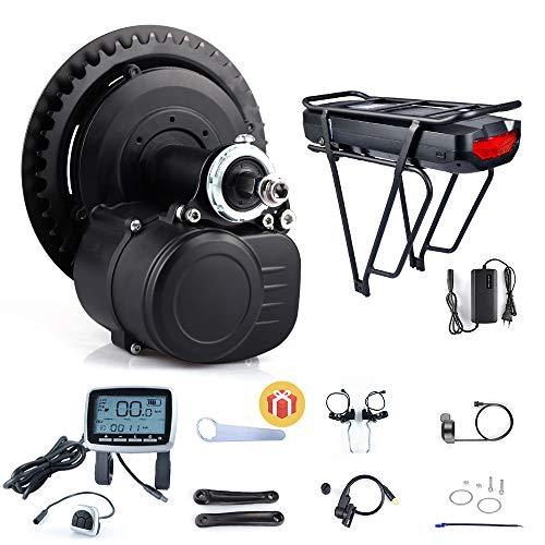 TongSheng TSDZ2 36V 250W 350W 48V 500W Torque Sensored DIY eBike Mid Drive Kit Motor de manivela Bicicleta eléctrica…