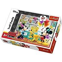 Puzzle 30 Myszka Miki Tort urodzinowy